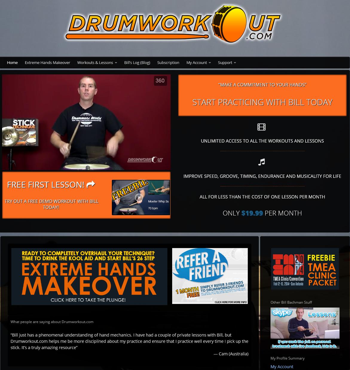 www.drumworkout.com