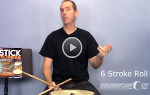 Bill Bachman 6 Stroke Roll Lesson
